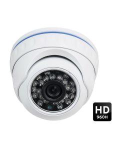 Telecamera videosorveglianza Dome 1/3 CMOS CCTV 2.0 Megapixel 960H HD per Interno/Esterno - MOD. 2012G