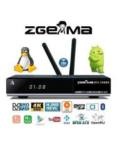 Zgemma H10 Combo 4K DVB-S2X+DVB-T2/C Wifi Enigma 2 + Android