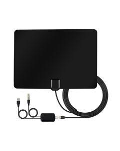 Antenna Digitale Terrestre HDTV da interno con amplificatore da 25dB
