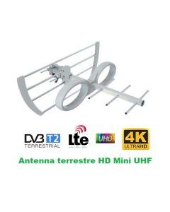 Antenna Digitale Terrestre MINI Banda UHF CH 21-60
