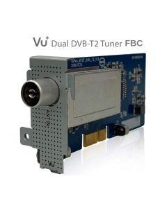 Tuner Dual DVB-T2/C FBC per Vu+ Uno 4K / Uno 4K SE / Ultimo 4K / Duo 4K