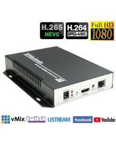 Encoder H.265 / H.264 FULL HD 1080p