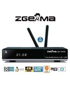 Zgemma H9 Twin 4K Multistream 2xDVB-S2X Wifi Dual CI