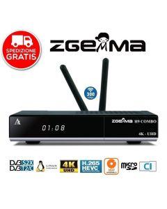 Zgemma H9 Combo 4K Multistream 1xDVB-S2X+1xDVB-T2/C CI Wifi