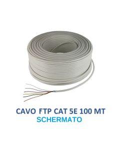 Matassa da 100 mt cavo di rete FTP CAT 5E SCHERMATO