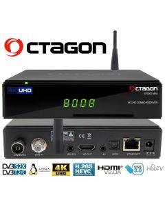 Octagon SF8008 MINI 4K Combo DVB-S2X+DVB-T2/C Wifi Multistream