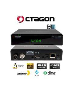 Octagon SX88+ Optima Combo H.265 DVB-S2+DVB-T2/C Multistream