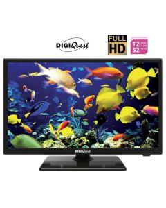 "Televisore LED 22"" FULL HD DVB-T2/S2 DGQ2212V DIGIQUEST"